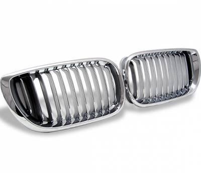 4CarOption - BMW 3 Series 4CarOption Front Hood Grille - GR-E4602032XCS-A