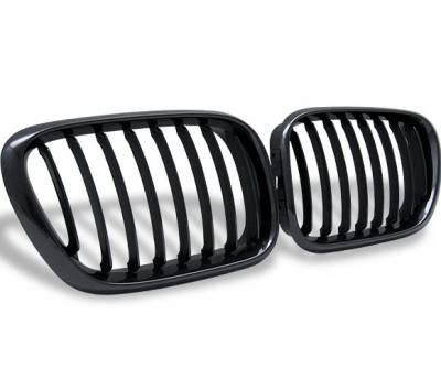 4CarOption - BMW X5 4CarOption Front Hood Grille - GR-E530003XB-A