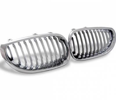 4CarOption - BMW 5 Series 4CarOption Front Hood Grille - GR-E600305XCS-A
