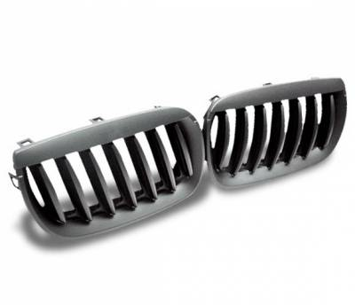 4CarOption - BMW X3 4CarOption Front Hood Grille - GR-E8304066B-A