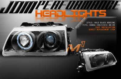 Custom - JDM Chrome Pro Headlights