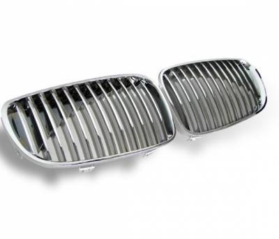 4CarOption - BMW 1 Series 4CarOption Front Hood Grille - GR-E870809XCS