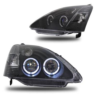 Custom - JDM Black Housing Headlights
