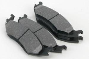 Royalty Rotors - Volkswagen Scirocco Royalty Rotors Ceramic Brake Pads - Rear