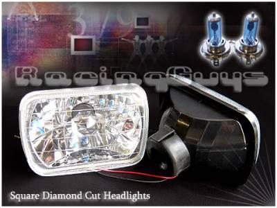 Custom - Crystal Cut Headlights