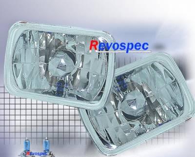 Custom - Diamond Cut Headlights