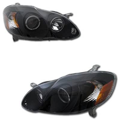 Custom - JDM Black Housing Clear Lens Pro Headlights