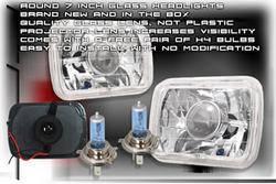 Custom - Square Pro Headlights