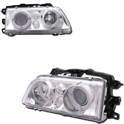 Custom - Chrome Clear Halo Pro Headlights
