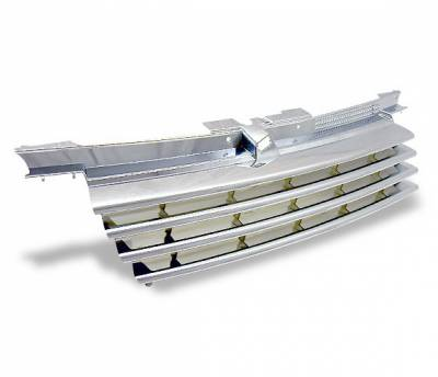 4CarOption - Volkswagen Jetta 4CarOption Front Hood Grille - GR-JTA49904-CR