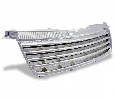 4CarOption - Volkswagen Passat 4CarOption Front Hood Grille - GR-PST0205-CR