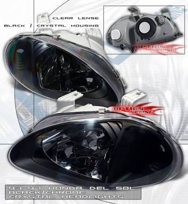 Custom - JDM Black  Headlights