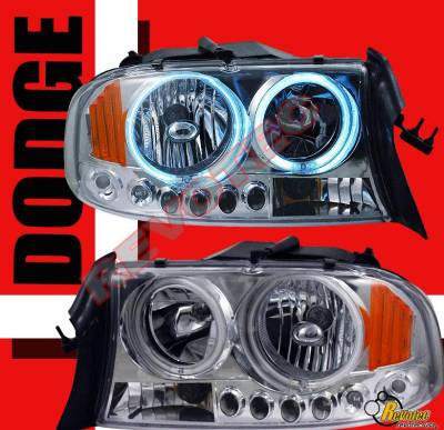 Custom - Chrome Halo LED Headlights