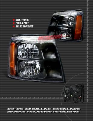 Custom - Black Headlights