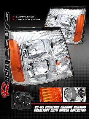 Custom - Chrome Clear Headlights