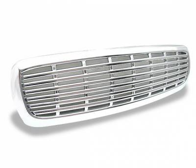 4CarOption - Dodge Durango 4CarOption Front Hood Grille - GRZ-DKT9704-CM