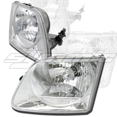 Custom - Diamond Clear Headlights