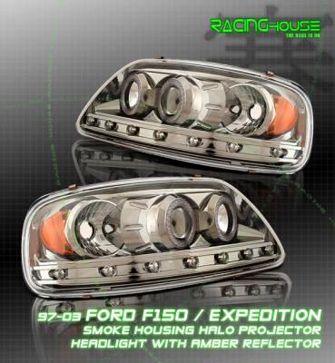 Custom - Titanium Dual Halo Headlights