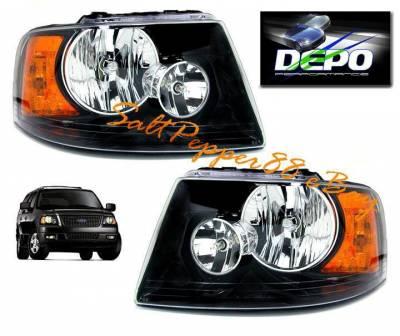Custom - Black Racing  Headlights