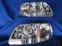 Custom - Harley Davidson Style Headlights