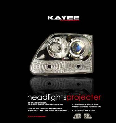 Custom - JDM Clear Pro Headlights