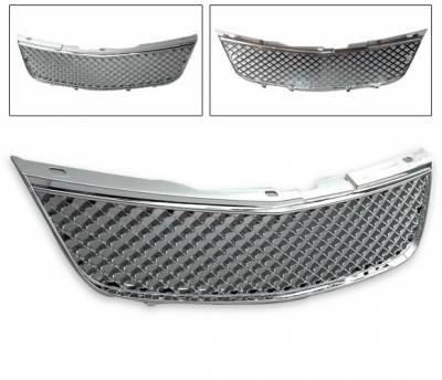 4CarOption - Chevrolet Impala 4CarOption Front Hood Grille - GRZT-IPL0005-CM