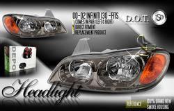 Custom - Smoke Headlights