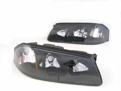 Custom - Black  Clear Headlights