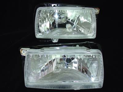 Custom - VW Golf or Jetta Crystal Clear Headlights