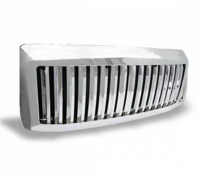 4CarOption - Ford F350 4CarOption Front Hood Grille - GRZV-F2500809-CM