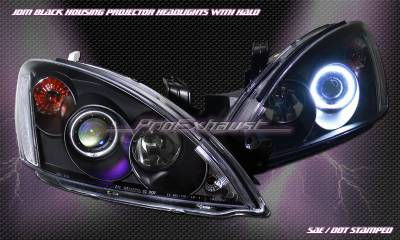 Custom - JDM  Black Halo Pro Headlights