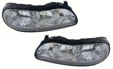 Custom - Crystal Clear Euro Headlights