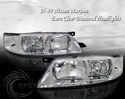 Custom - Euro Diamond Clear Headlights