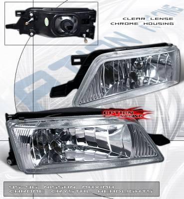 Custom - GXE Crystal Clear Headlights