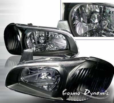 Custom - JDM Crystal Black  Headlights