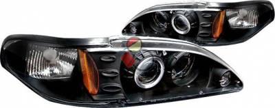 Custom - Black Halo Pro Headlights
