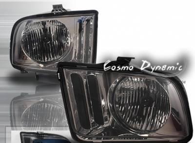 Custom - Gunmetal Diamond Cut Headlights