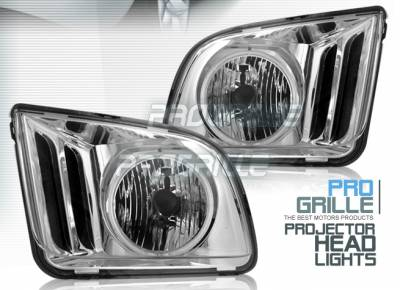 Custom - Chrome Halo Headlights