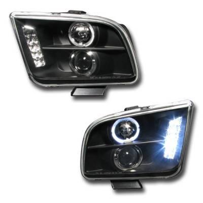 Custom - Black Halo Pro LED Headlights