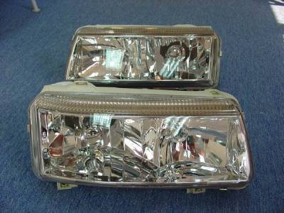 Custom - VW Passat Crystal Clear Headlights