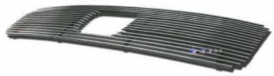 APS - Honda Pilot APS Billet Grille - with Logo Opening - Upper - Aluminum - H67113A