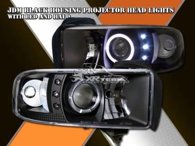 Custom - JDM Black Halo Pro LED Headlights