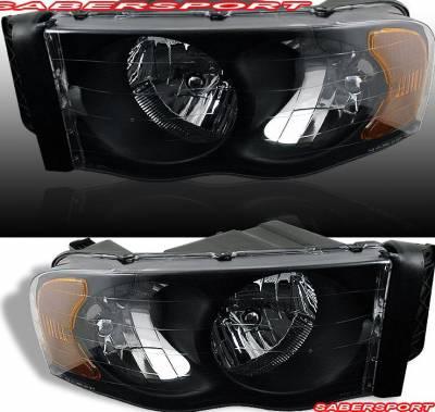 Custom - Black Crystal Headlights