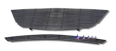 APS - Acura MDX APS Billet Grille - Upper & Bumper - Aluminum - H86616A