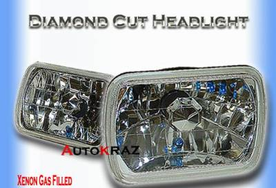 Custom - Diamond Cut Headlights