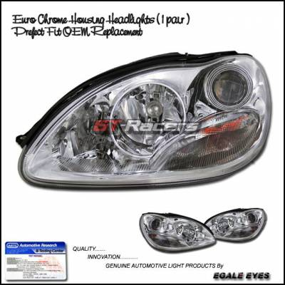 Custom - Euro Chrome Pro Headlights