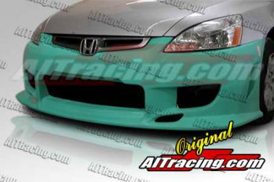 AIT Racing - Honda Accord 2DR AIT Racing C-Weapon Style Front Bumper - HA03HICWSFB2