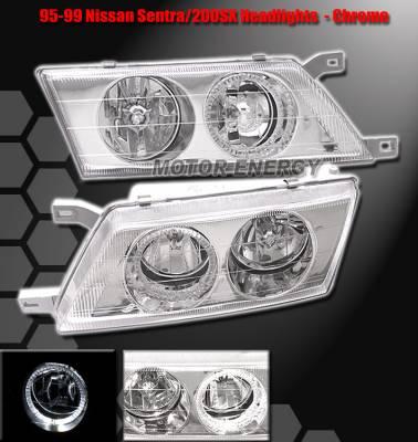 Custom - Chrome Housing Headlights