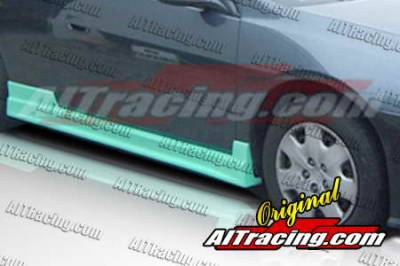 AIT Racing - Honda Accord 2DR AIT Racing C-Weapon Style Side Skirts - HA03HICWSSS2