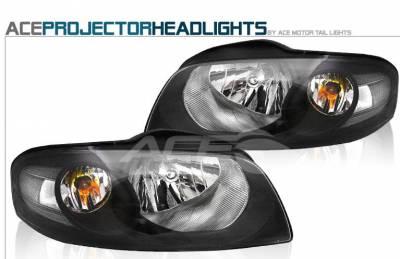 Custom - Black Altezza Headlights